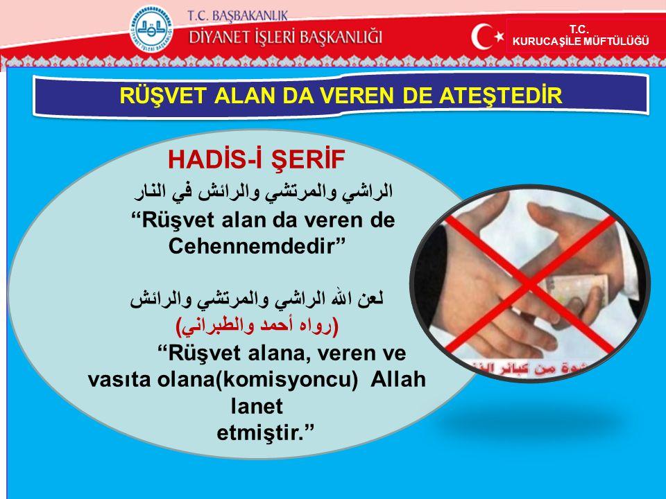 HADİS-İ ŞERİF الراشي والمرتشي والرائش في النار