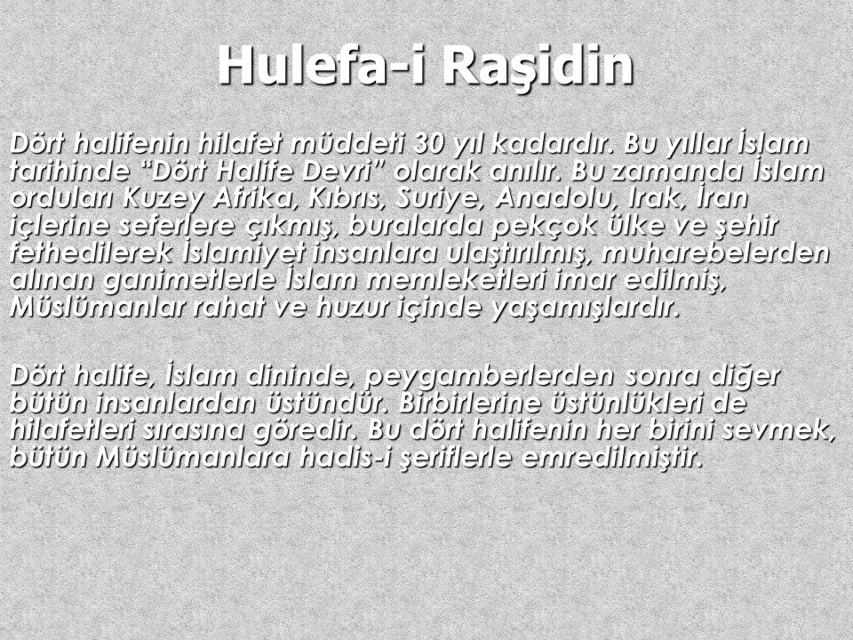 Hulefa-i Raşidin