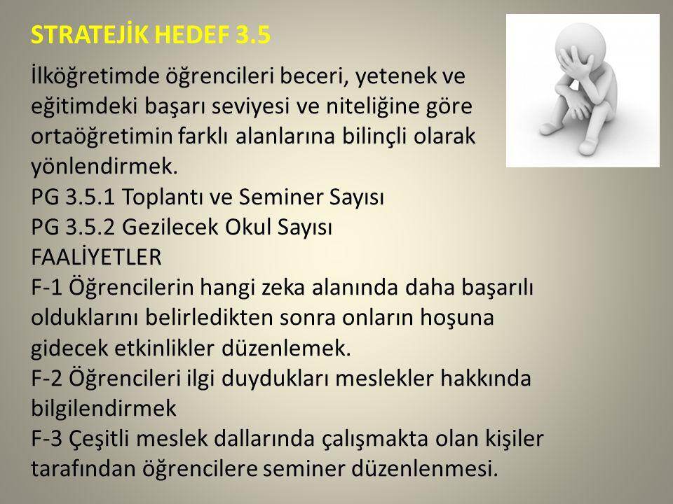 STRATEJİK HEDEF 3.5