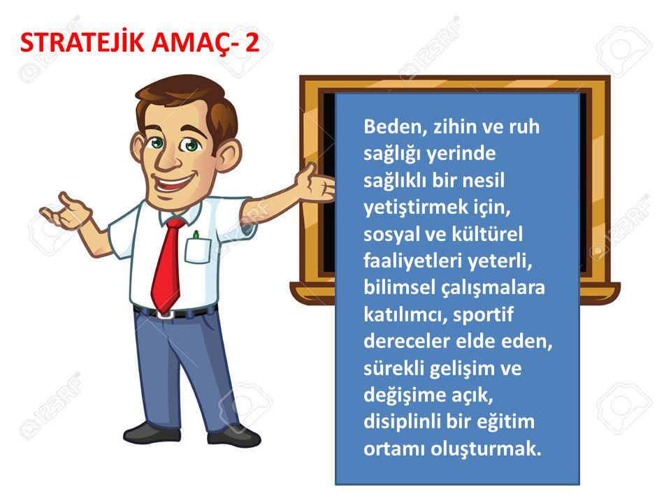 STRATEJİK AMAÇ- 2