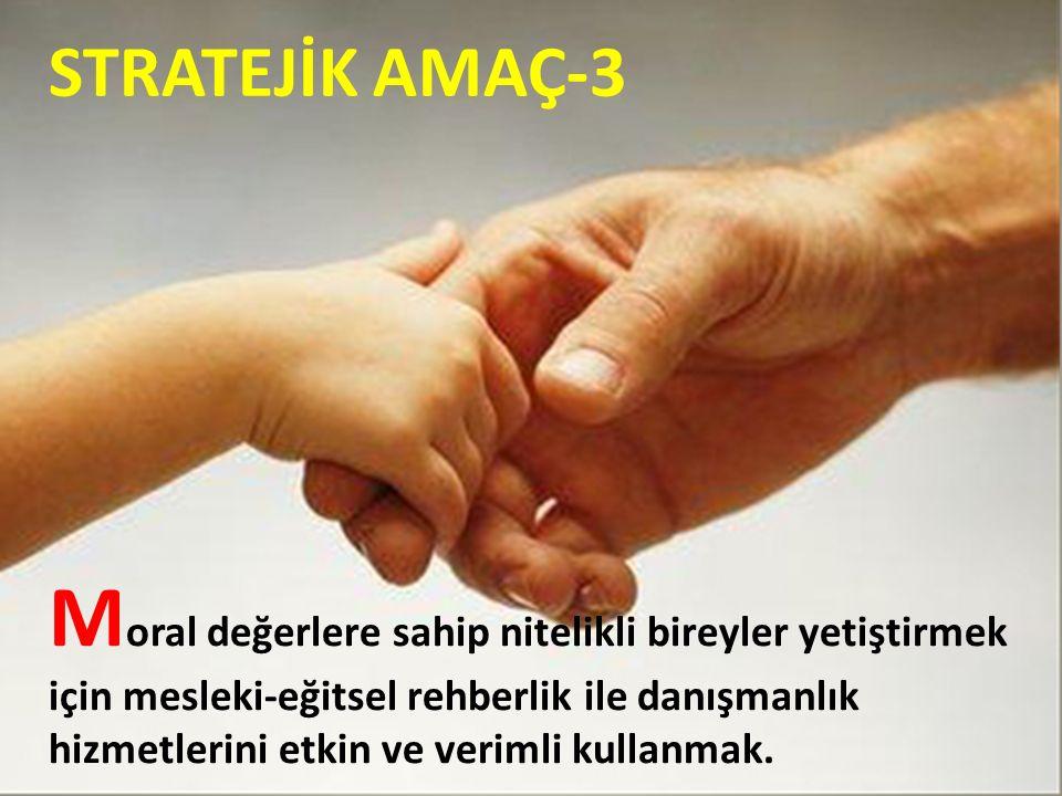 STRATEJİK AMAÇ-3