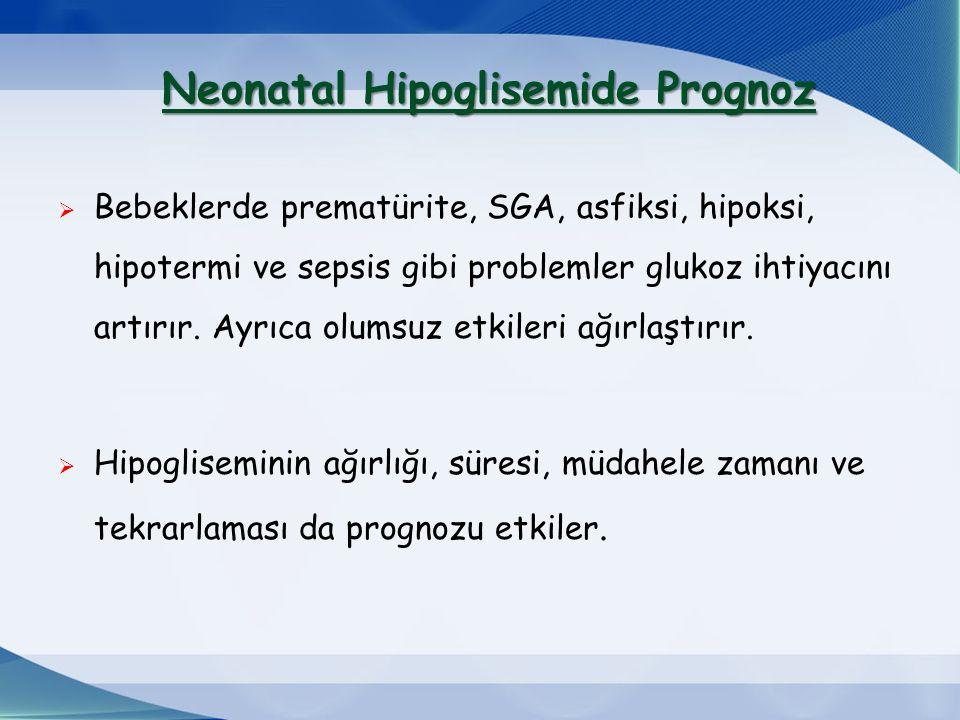 Neonatal Hipoglisemide Prognoz