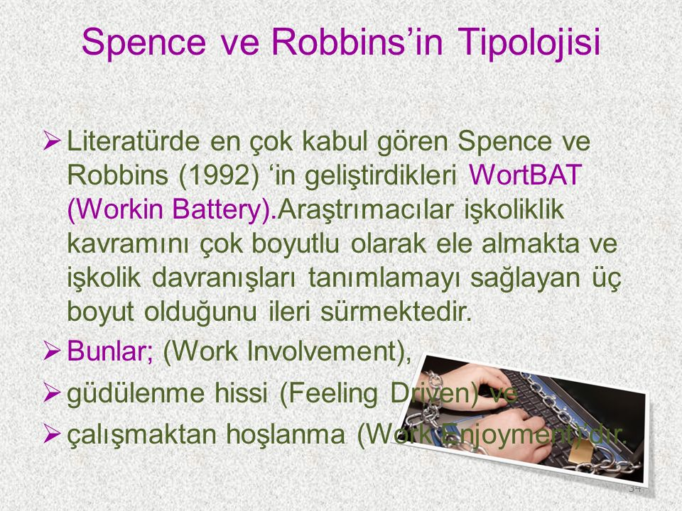Spence ve Robbins'in Tipolojisi