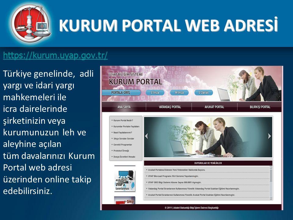 KURUM PORTAL WEB ADRESİ