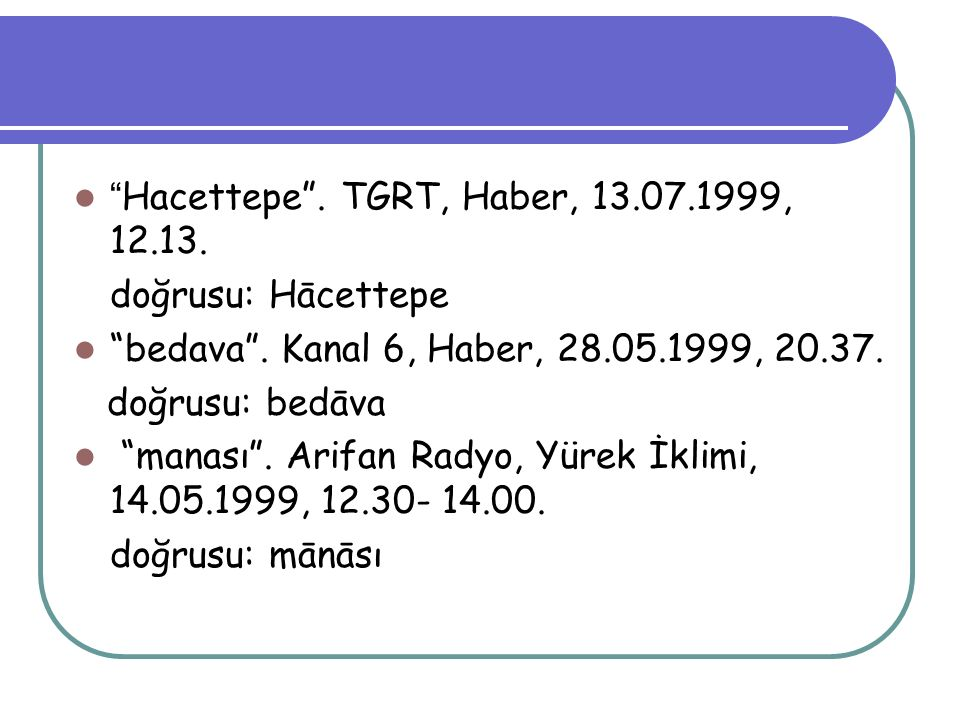 Hacettepe . TGRT, Haber, 13.07.1999, 12.13.