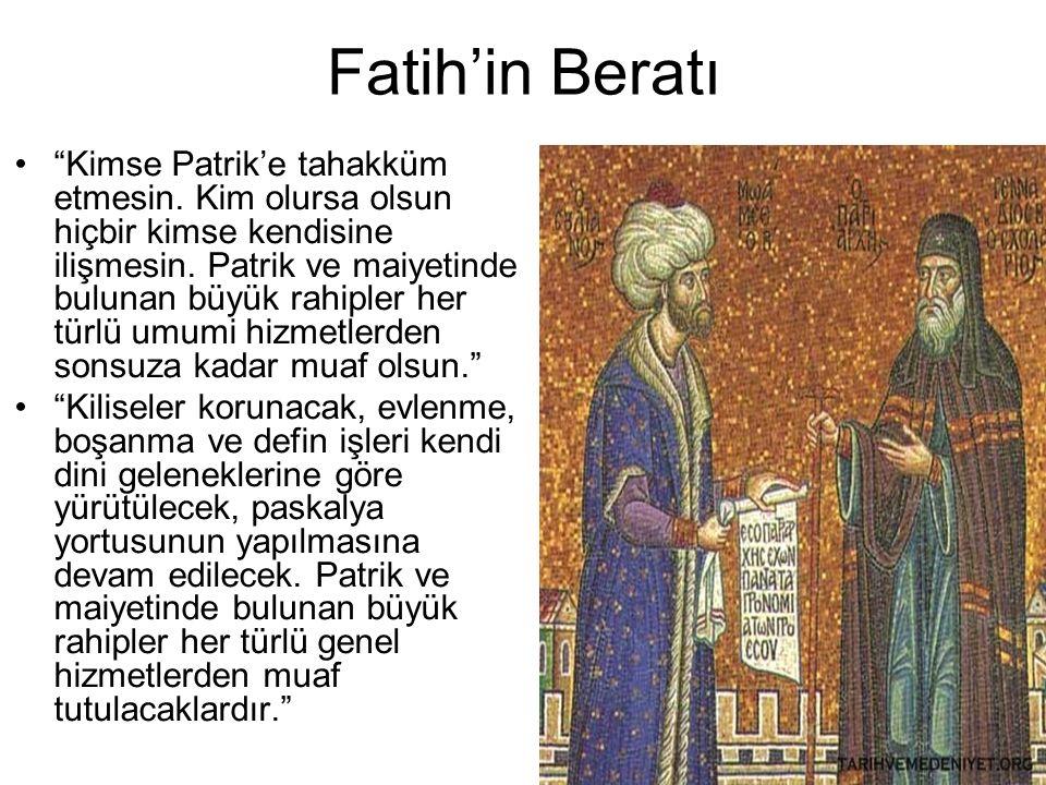 Fatih'in Beratı