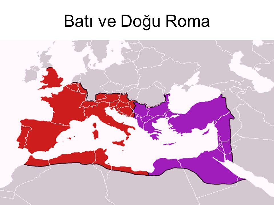 Batı ve Doğu Roma