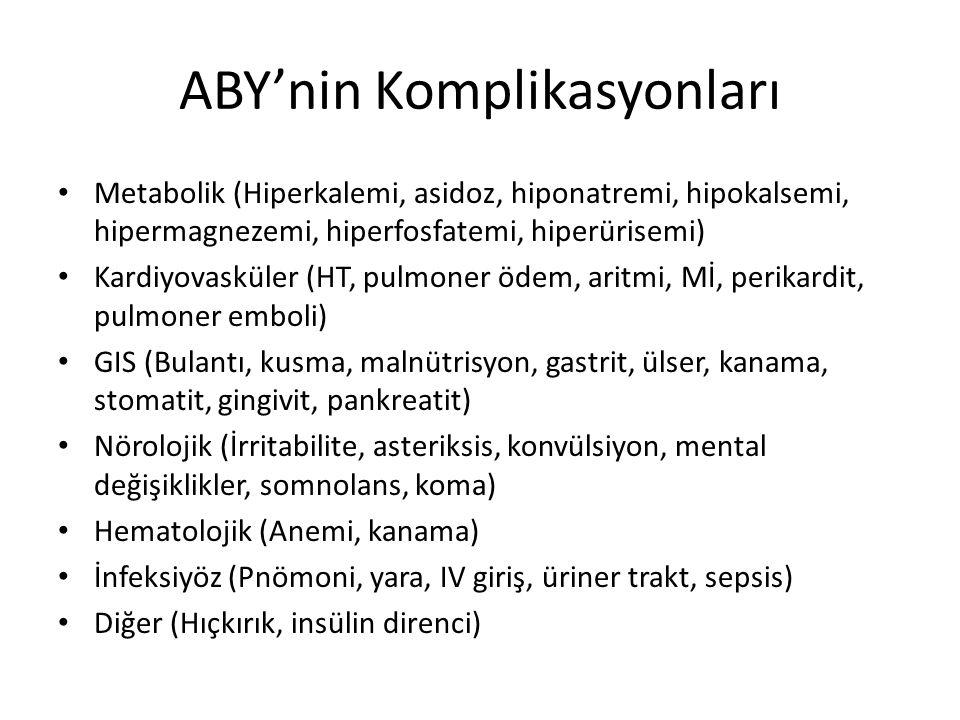 ABY'nin Komplikasyonları