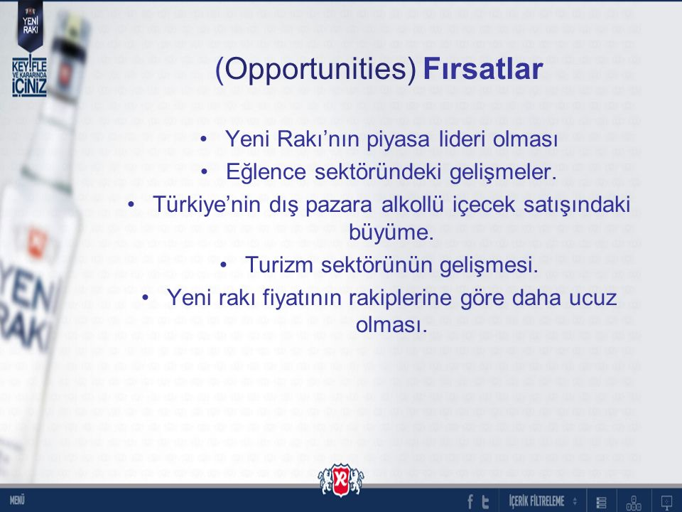 (Opportunities) Fırsatlar