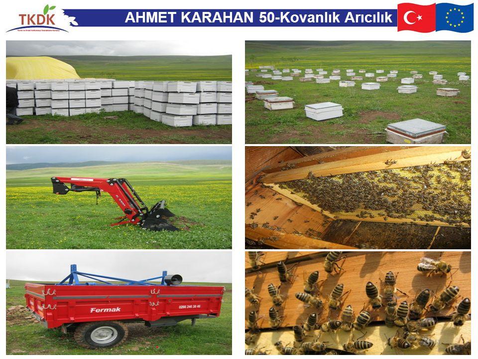 AHMET KARAHAN 50-Kovanlık Arıcılık