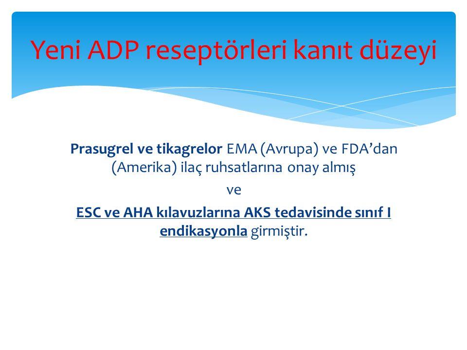 Yeni ADP reseptörleri kanıt düzeyi
