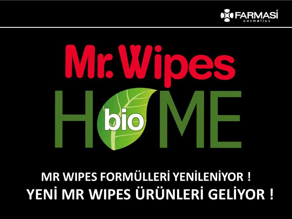 MR WIPES FORMÜLLERİ YENİLENİYOR !