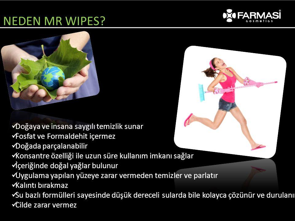NEDEN MR WIPES Doğaya ve insana saygılı temizlik sunar