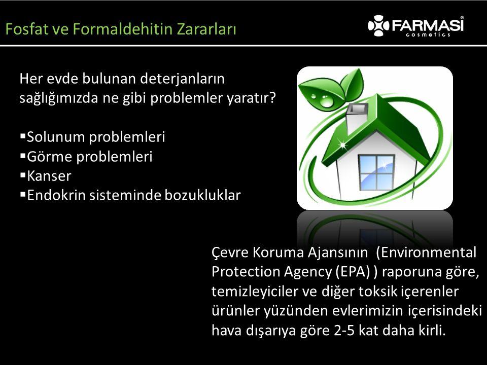 Fosfat ve Formaldehitin Zararları