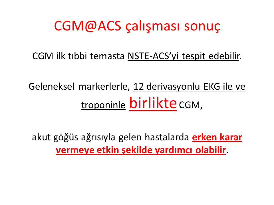 CGM@ACS çalışması sonuç