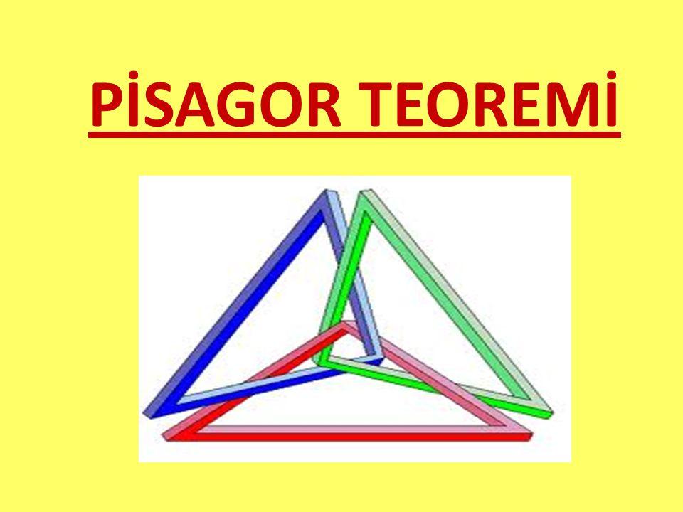 PİSAGOR TEOREMİ