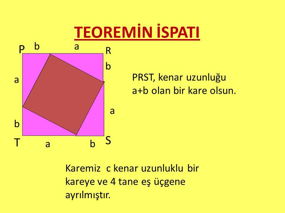 TEOREMİN İSPATI P S T b a R b
