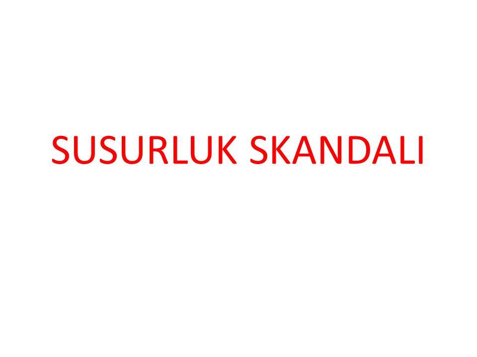 SUSURLUK SKANDALI