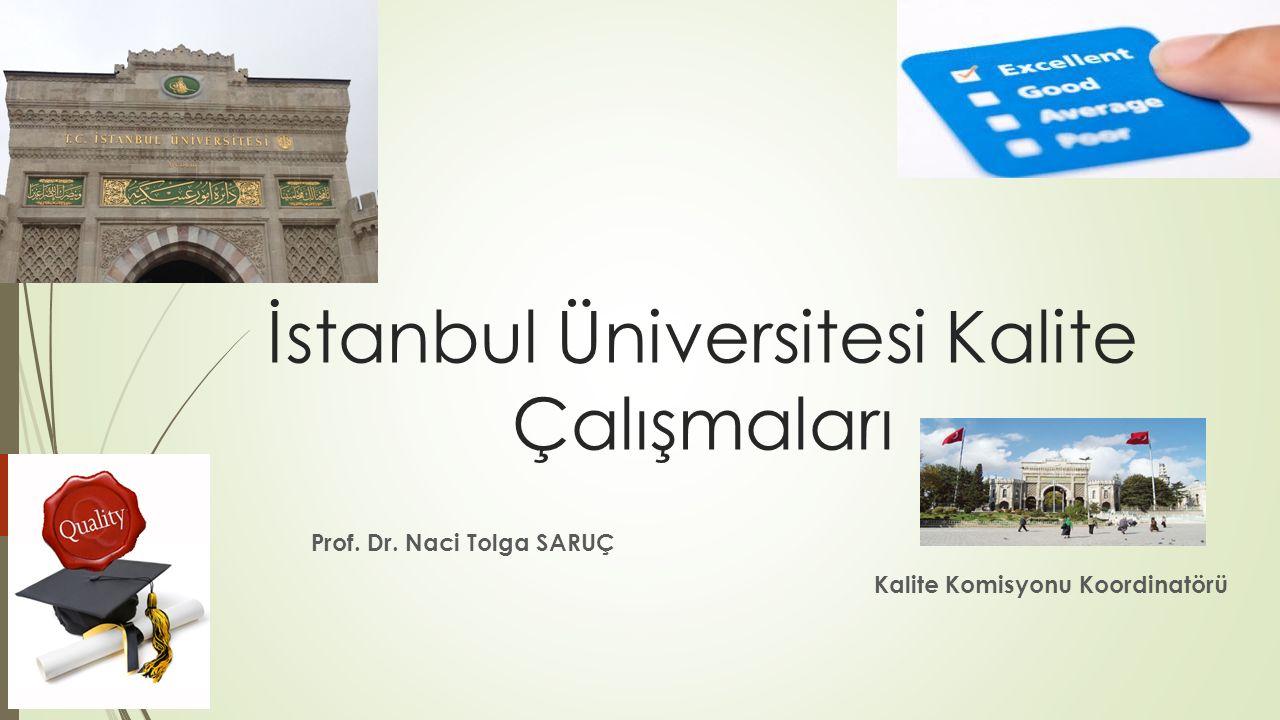 İstanbul Üniversitesi Kalite Çalışmaları