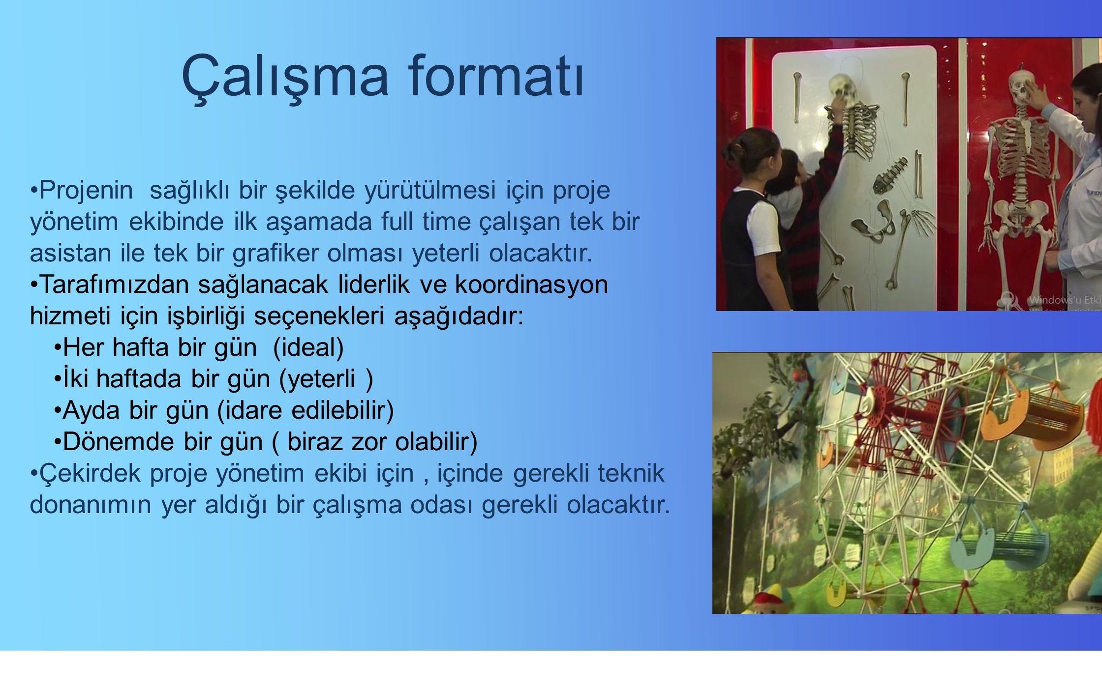 Çalışma formatı