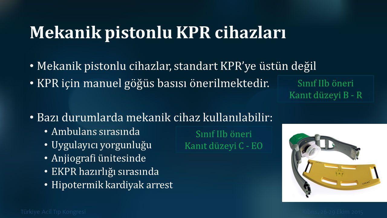 Mekanik pistonlu KPR cihazları