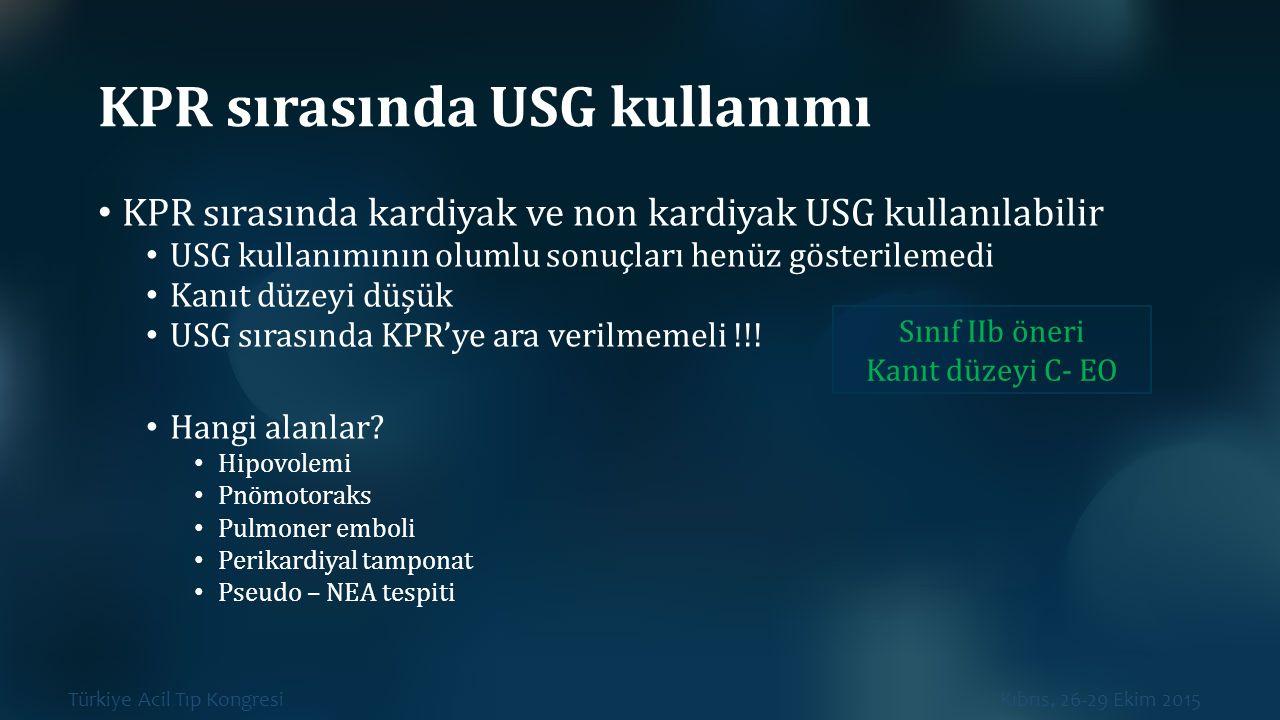 KPR sırasında USG kullanımı