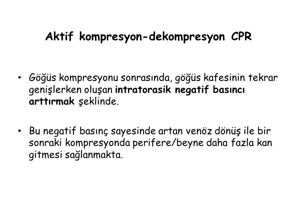 Aktif kompresyon-dekompresyon CPR