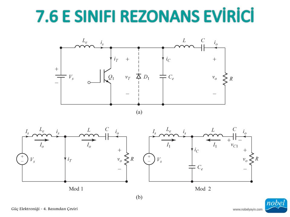 7.6 E SInIfI Rezonans EVİRİCİ