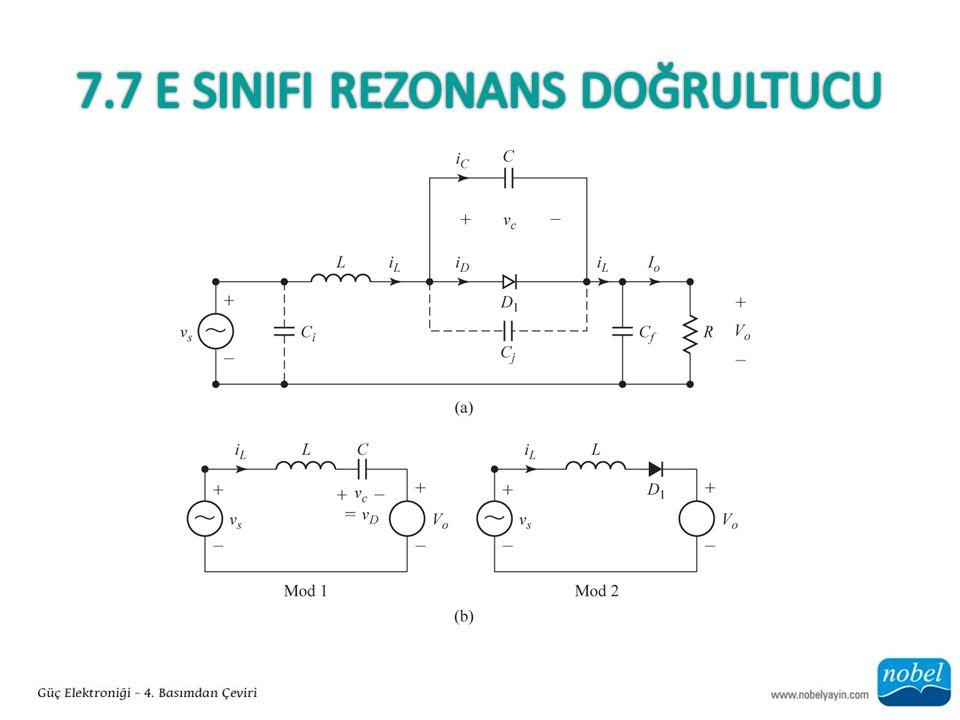 7.7 E SINIFI Rezonans Doğrultucu