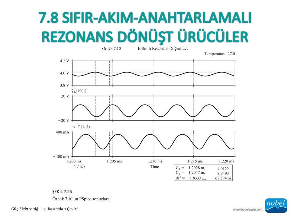 7.8 sIFIR-AkIm-AnahtarlamalI Rezonans Dönüşt ürücüler