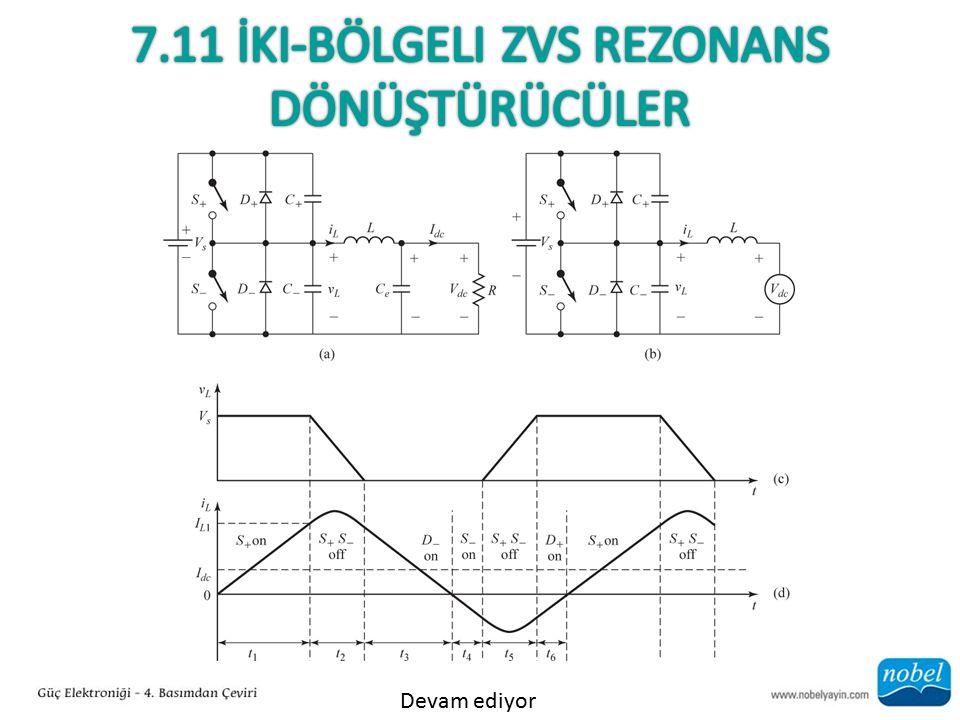 7.11 İki-Bölgeli Zvs Rezonans Dönüştürücüler