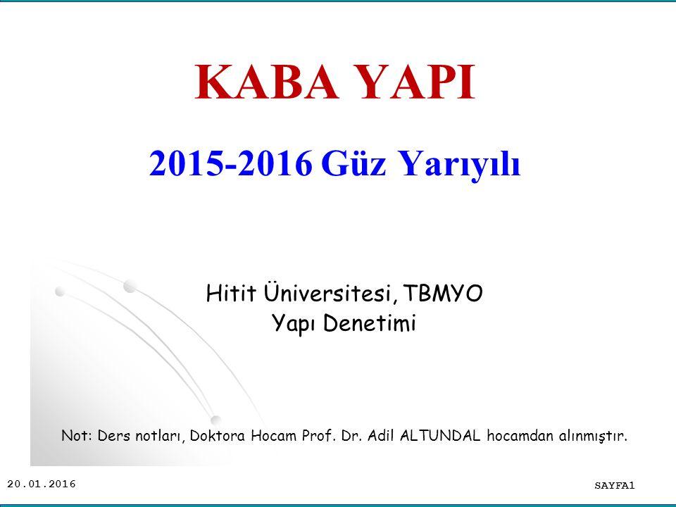 Hitit Üniversitesi, TBMYO
