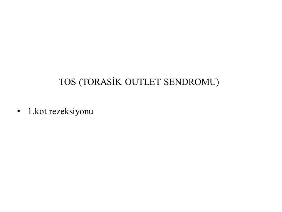 TOS (TORASİK OUTLET SENDROMU)