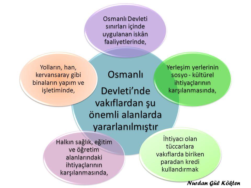 Osmanlı Devleti sınırları içinde uygulanan iskân faaliyetlerinde,