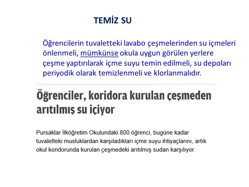 TEMİZ SU