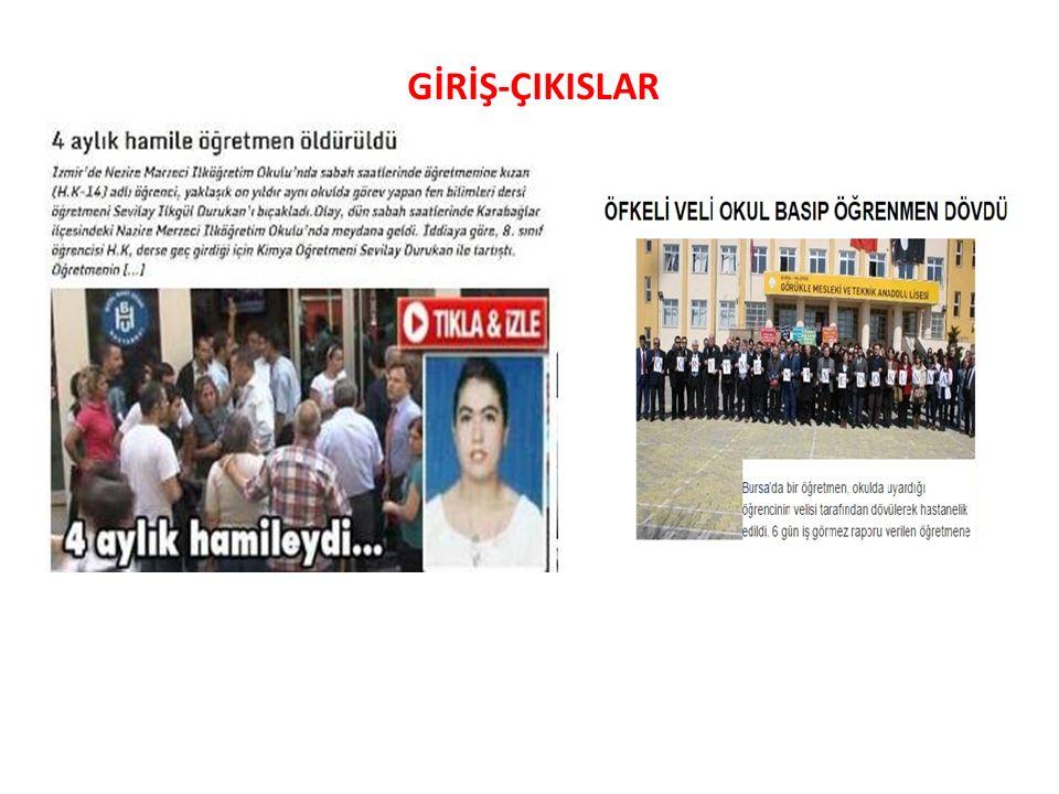 GİRİŞ-ÇIKISLAR