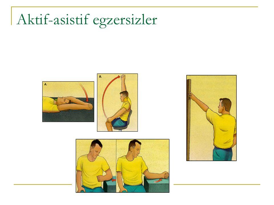 Aktif-asistif egzersizler