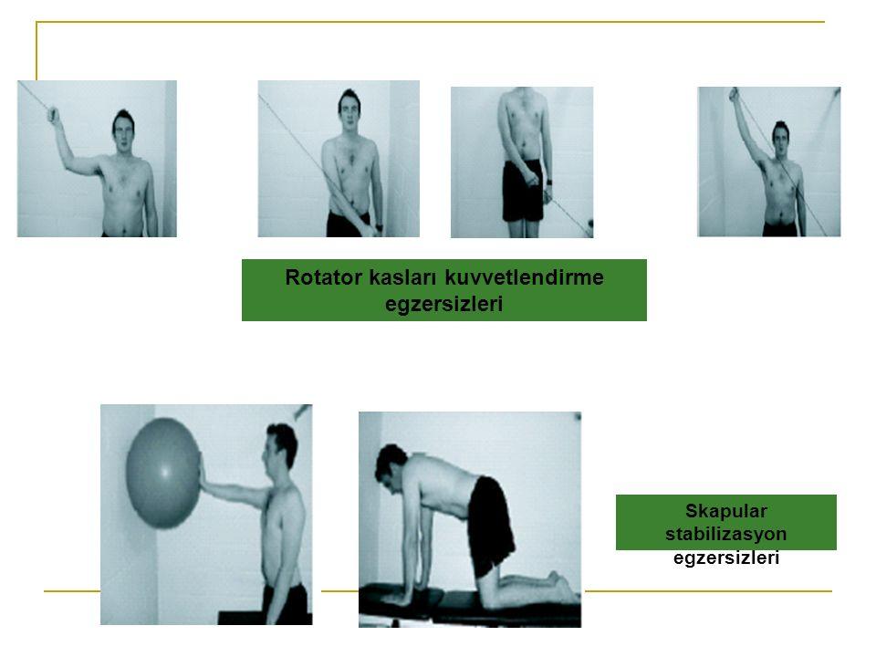 Rotator kasları kuvvetlendirme egzersizleri