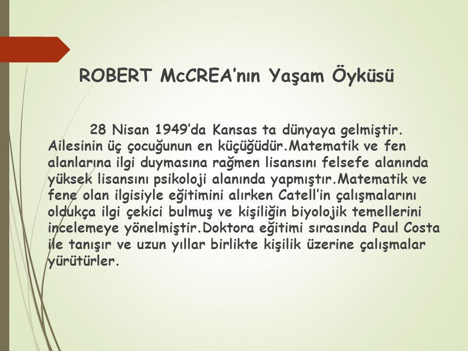 ROBERT McCREA'nın Yaşam Öyküsü