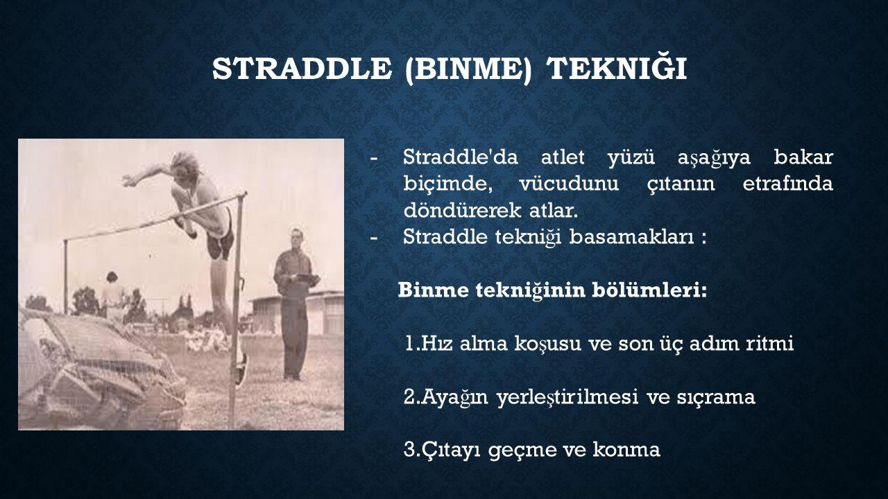 Straddle (binme) tekniği