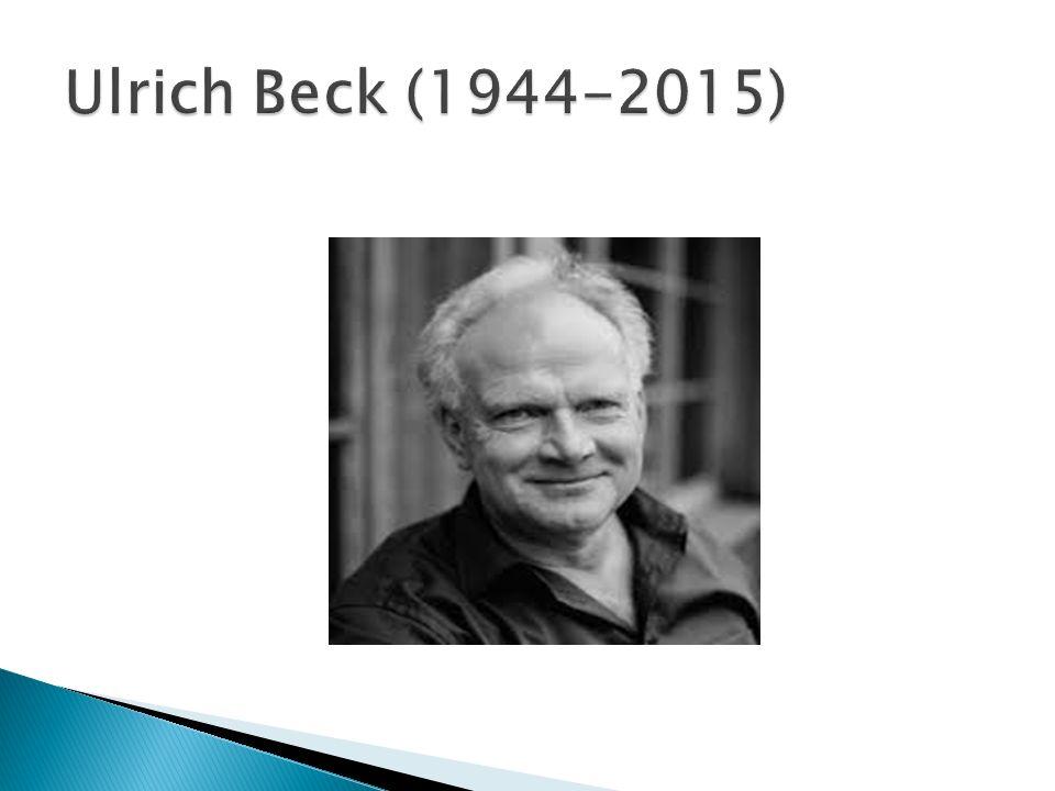 Ulrich Beck (1944-2015)