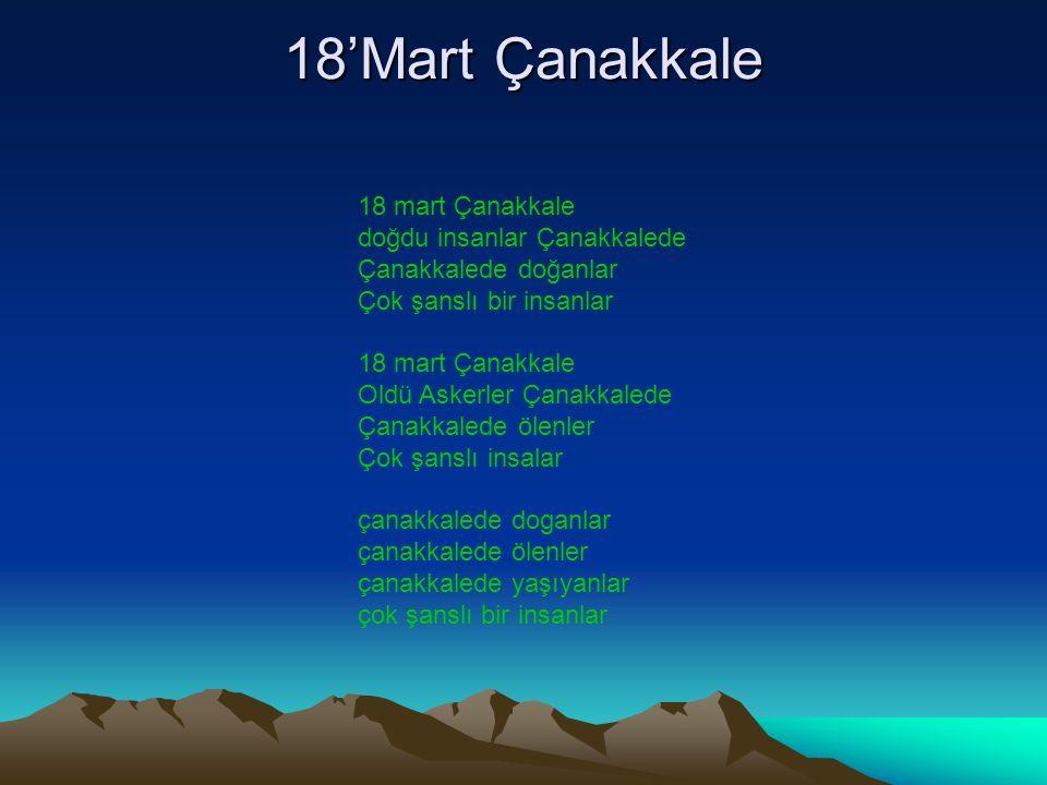 18'Mart Çanakkale