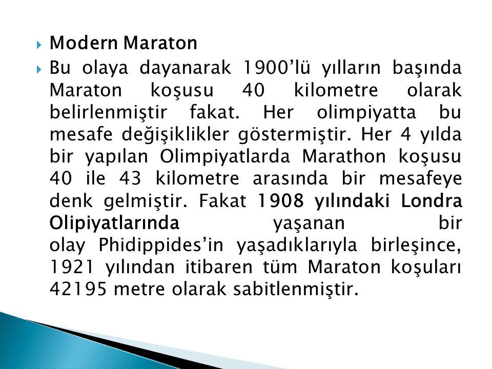 Modern Maraton