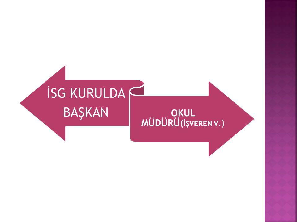 OKUL MÜDÜRÜ(İŞVEREN V.)
