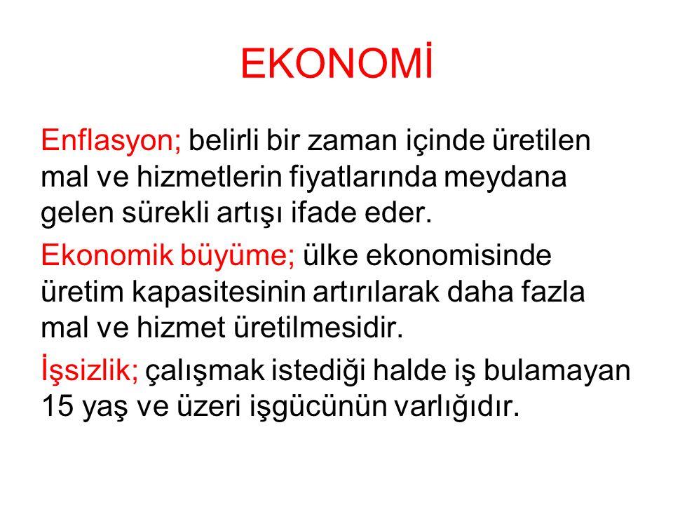 EKONOMİ