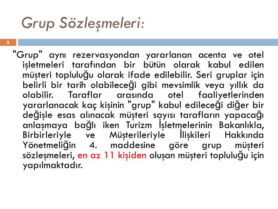 Grup Sözleşmeleri: