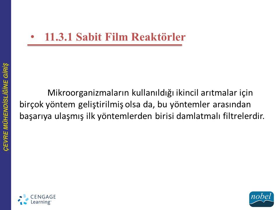 11.3.1 Sabit Film Reaktörler