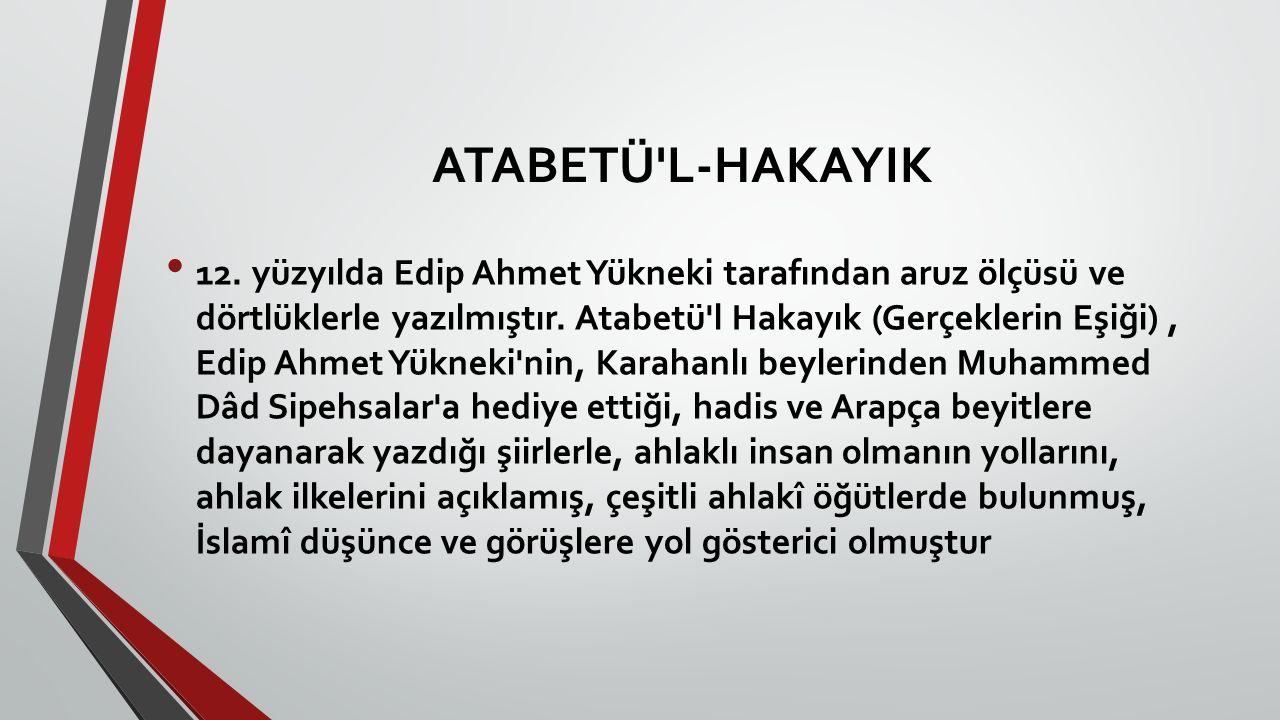 ATABETÜ L-HAKAYIK