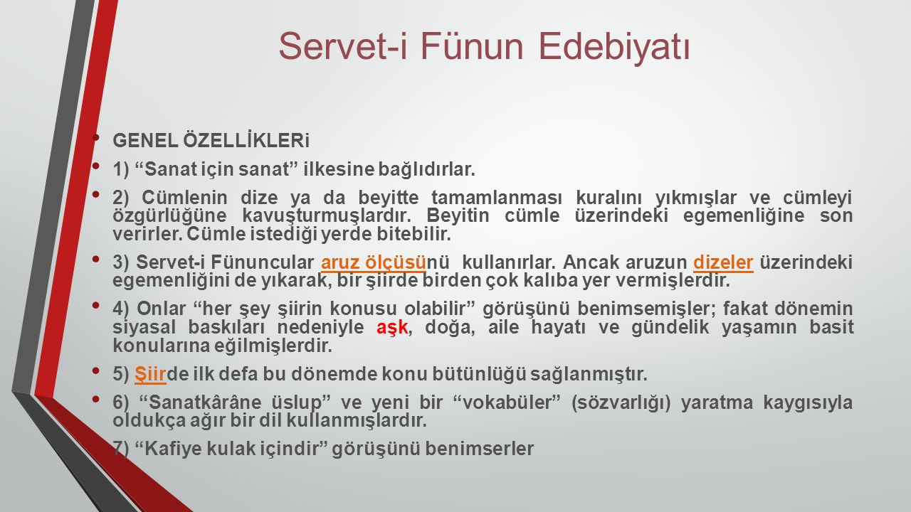 Servet-i Fünun Edebiyatı