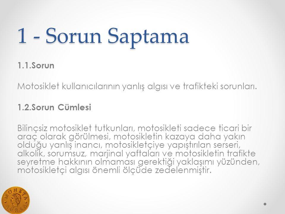 1 - Sorun Saptama